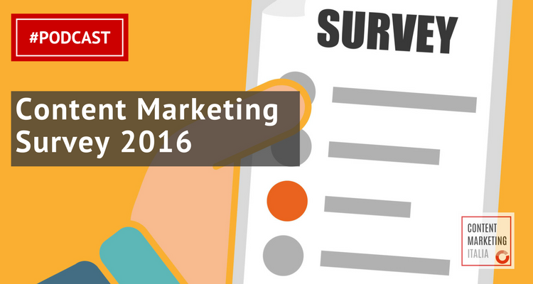 content marketing survey