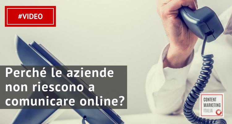 comunicazione aziende online