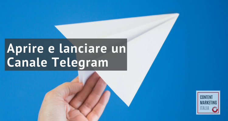canale telegram caso studio