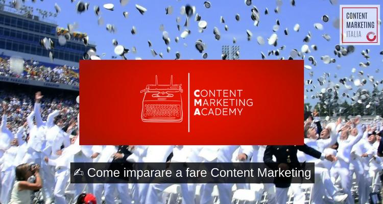 imparare content marketing